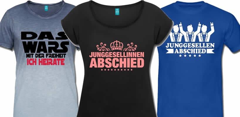 new arrivals 89534 aa8f1 Lustige T-Shirts für Junggesellenabschied selbst gestalten